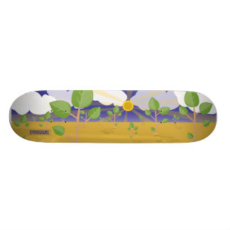 Sunshine makes it grow skateboards
