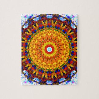 Sunshine Mandala Jigsaw Puzzle