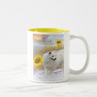 Sunshine My American Eskimo Mug