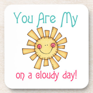 Sunshine on a Cloudy Day Drink Coaster