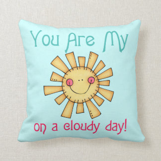 Sunshine on a Cloudy Day Pillows