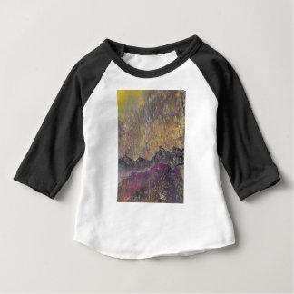 Sunshine over craggy landscape baby T-Shirt