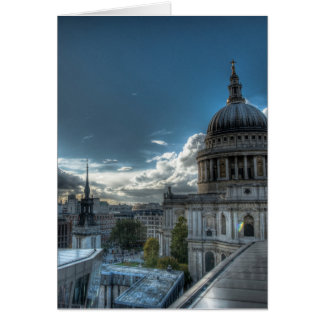 Sunshine over St Paul s Cathedral London Cards
