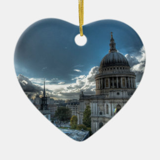 Sunshine over St. Paul's Cathedral, London Christmas Ornament