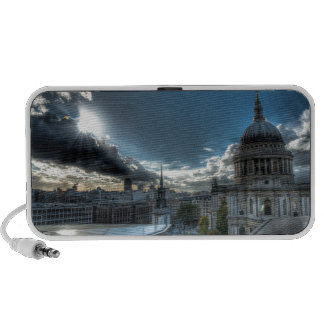Sunshine over St. Paul's Cathedral, London iPod Speaker