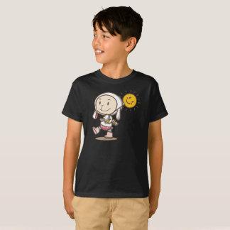 Sunshine Rabbit Jacket Walking Smile Kids T-Shirt