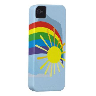 Sunshine rainbow abstract art Case-Mate iPhone 4 case