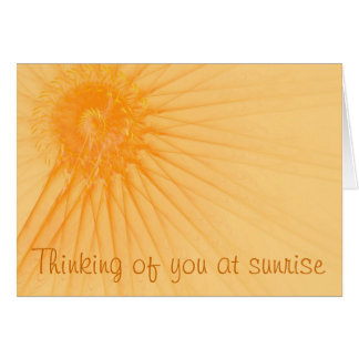 Sunshine & Rays Card
