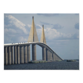 Sunshine Skyway Bridge Florida Photo Print 1