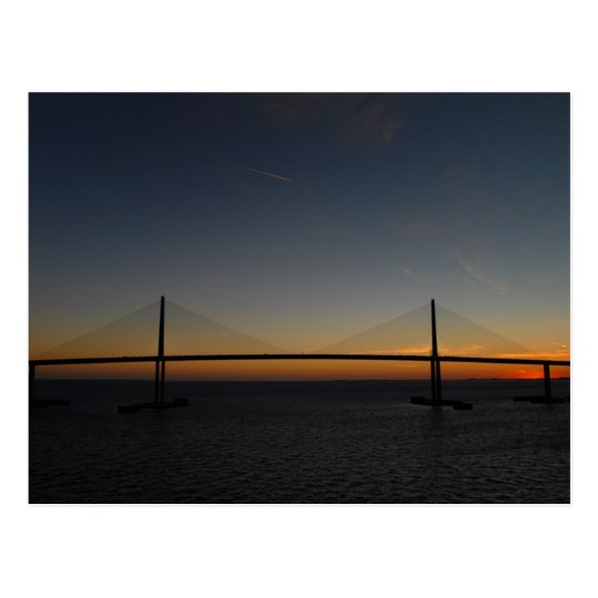 Sunshine Skyway Bridge Postcard