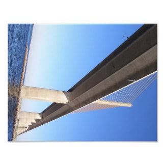 Sunshine Skyway Bridge (water view) Photo Art