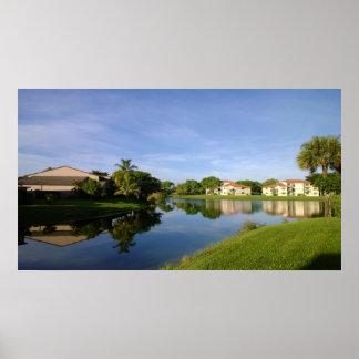 Sunshine State Florida, beautiful landscape. Poster