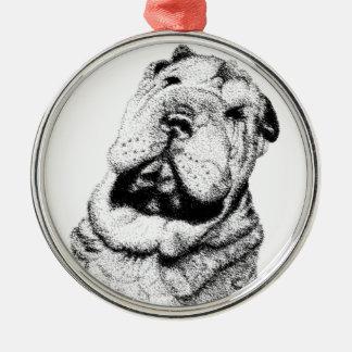 Sunshine State Shar Pei Rescue Round Ornament