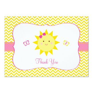 Sunshine Thank You Cards You Are My Sunshine