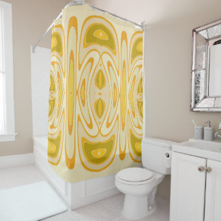 Sunshine Twist Shower Curtain