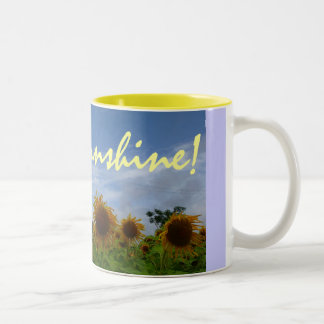 Sunshine Two-Tone Coffee Mug