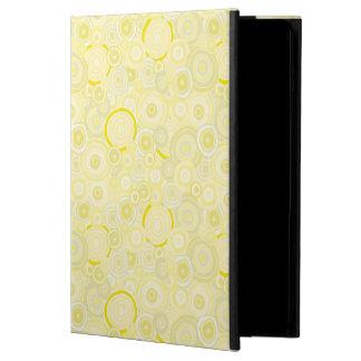 Sunshine Yellow iPad Case - Circles