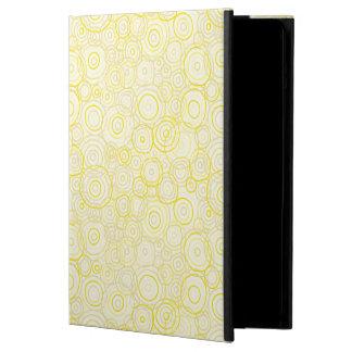 sunshine Yellow iPad Case - Outlines