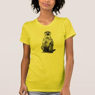 Sunshine Yellow Meerkat Tee Shirt