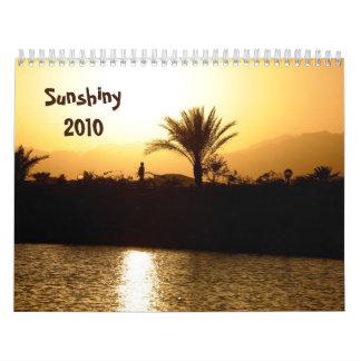Sunshiny 2010 calendar - Gift the sun to someone
