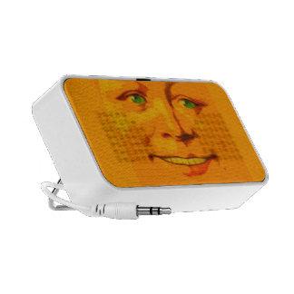 Sunshiny Happy Face Sings To You Keeps U Company iPod Speaker
