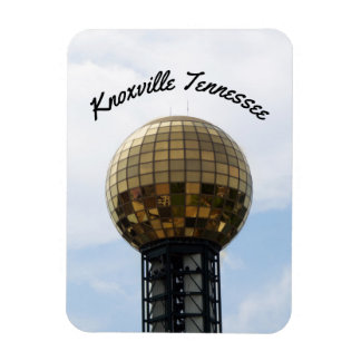 Sunsphere Knoxville Tennessee Rectangular Photo Magnet