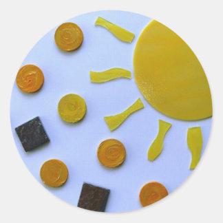 sunspots sticker