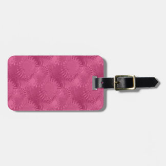 SunSpots Tiled Pattern Luggage Tag
