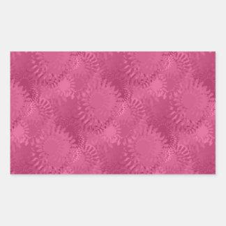 SunSpots Tiled Pattern Rectangular Stickers