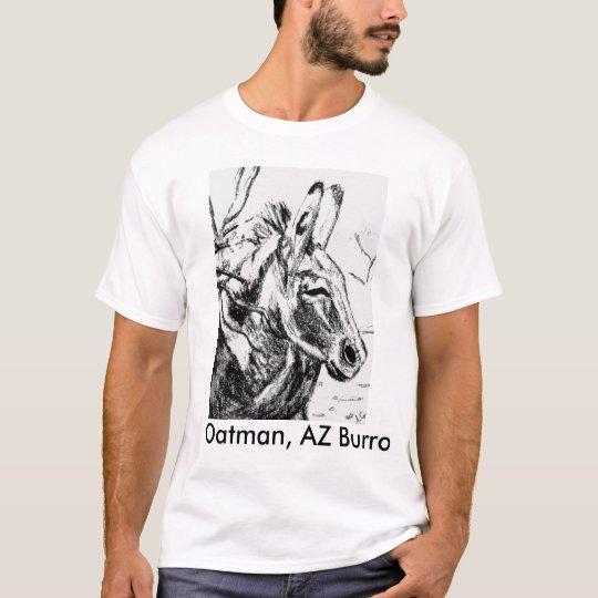 SunSuzi Designs- Oatman, AZ Burro, Men's T-shirt