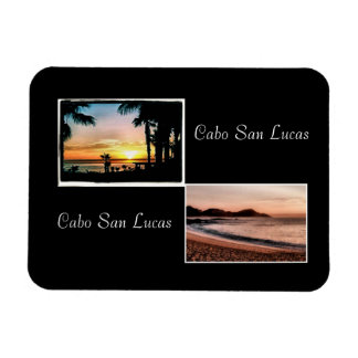 sunup,sun down cabo is beautiful rectangular photo magnet