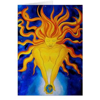 Sunworld Greetings Card