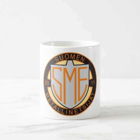 Suomen metallinetsijät ry:n virallinen muki coffee mug