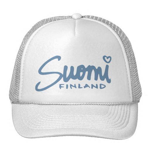 Suomi Finland 4 Trucker Hats