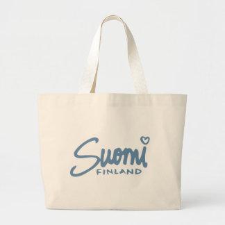 Suomi Finland 4 Jumbo Tote Bag