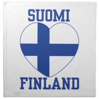 SUOMI FINLAND cloth napkins