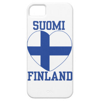 SUOMI FINLAND custom iPhone 5 case-mate