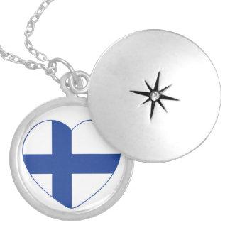 SUOMI FINLAND custom necklace