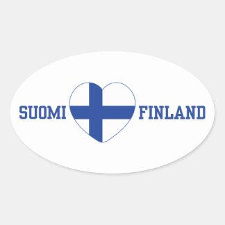 SUOMI FINLAND custom stickers