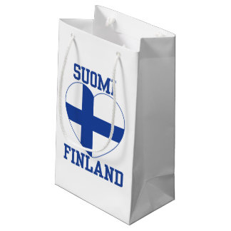 SUOMI FINLAND gift bags