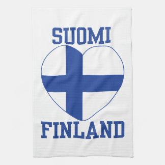 SUOMI FINLAND kitchen towels