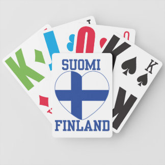 SUOMI FINLAND playing cards