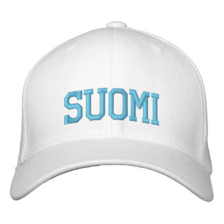 SUOMI (Finland) Wool Cap Embroidered Baseball Caps