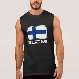 Suomi Flag Sleeveless Shirt