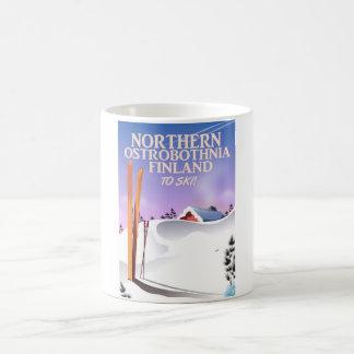 Suomi Hiihtää (Finland to ski) Coffee Mug