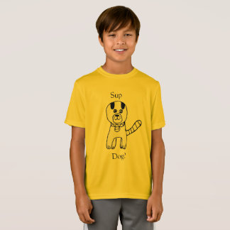 Sup, Dog? Amazing dog creation by Claire Marciano T-Shirt
