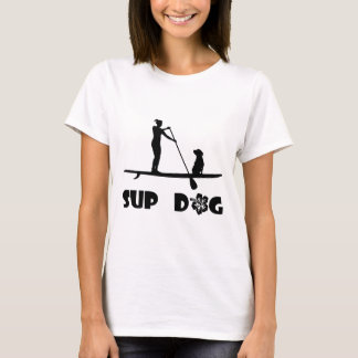 SUP Dog Sitting T-Shirt