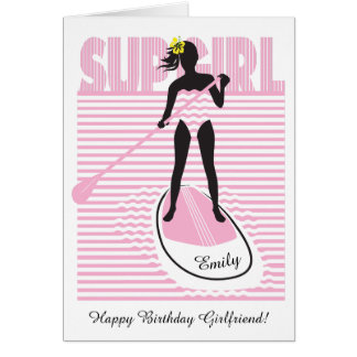 SUP Girl Card