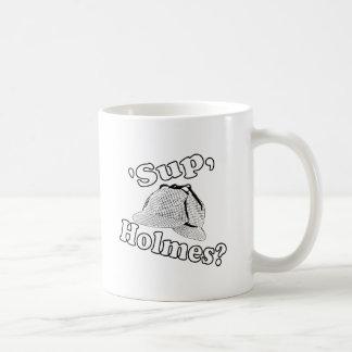 'Sup, Holmes? Basic White Mug