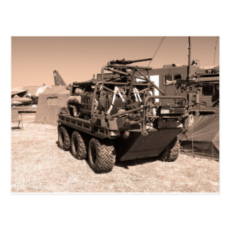 Supacat. The  all terrain six wheeled army vehicle Postcard